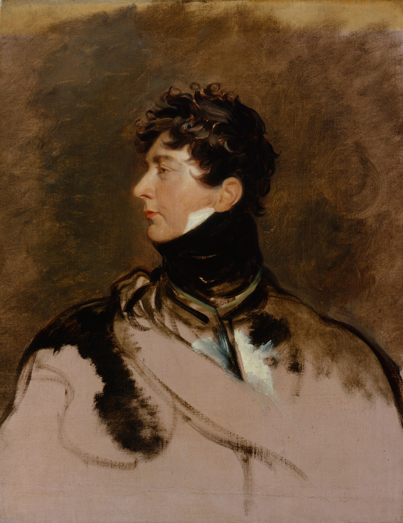 Fig. 4. Sir Thomas Lawrence, King George IV, c.1814, Oil on canvas, © National Portrait Gallery, London***